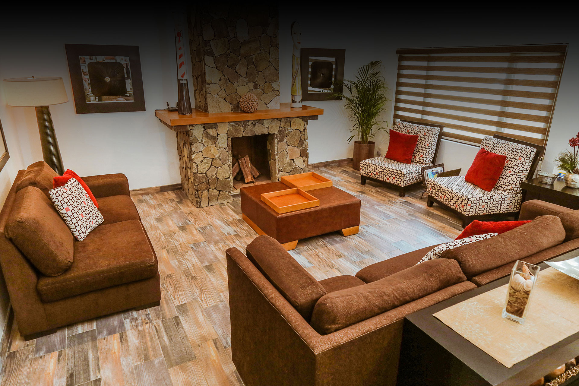 Lobby Casa Emiliana