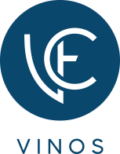 VE VINOS - logotipo azul